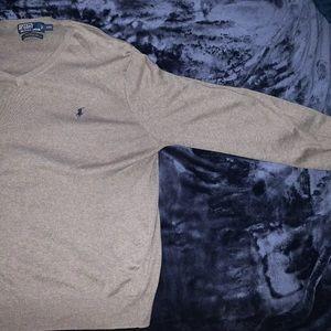 Polo Ralph Lauren gray sweater SIZE  2XL